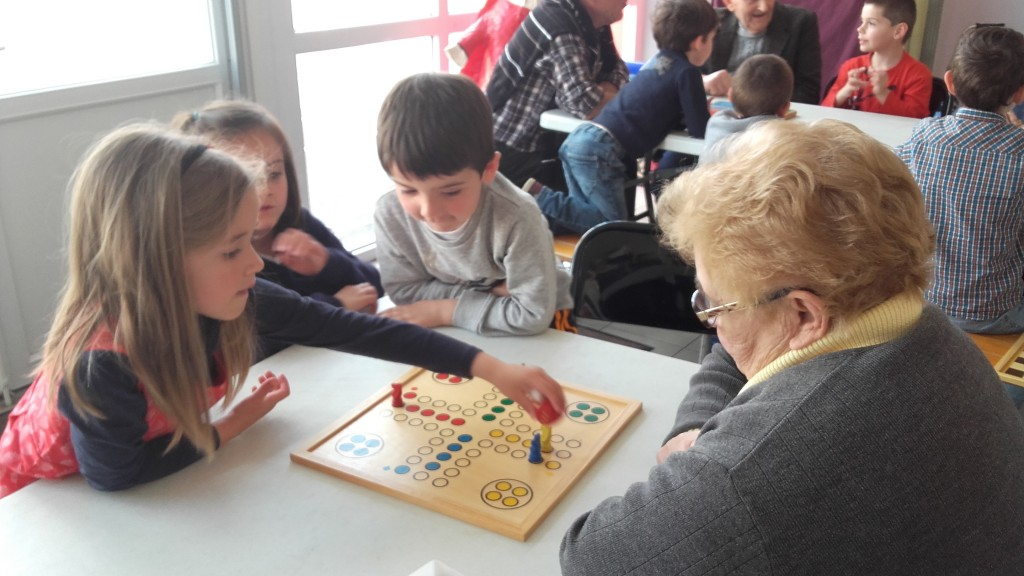 Rencontre intergenerationnelle ehpad